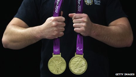 London 2012 Olympic Games medals