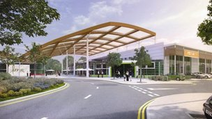 Plans for the new Banbury Gateway development