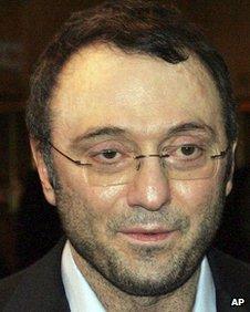 Russian billionaire Suleiman Kerimov