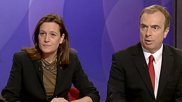 Rebecca Harris and Peter Hitchens