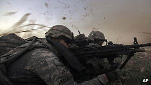 US soldiers file photo