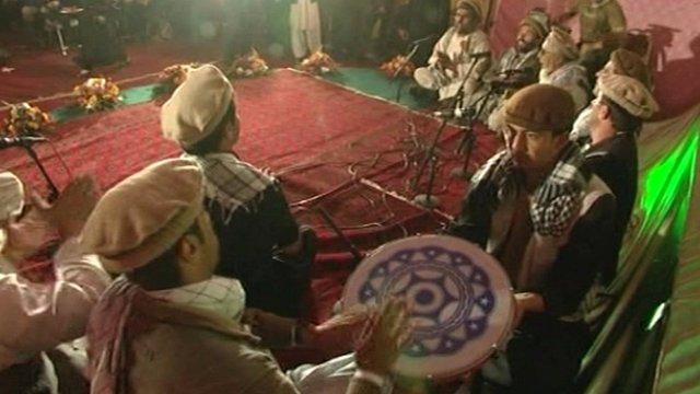 Afghan musicians