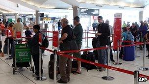 Perth airport 29 October
