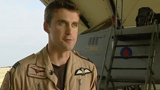 Flight Lieutenant James Boning