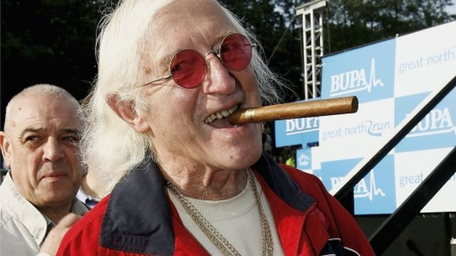 Sir Jimmy Savile dies aged 84