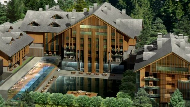 Plans for luxury tourist complex in Andermatt