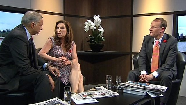Amanda Platell and Kamalesh Sharma review the papers on The Andrew Marr Show