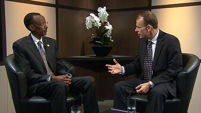 President Kagame on The Andrew Marr Show