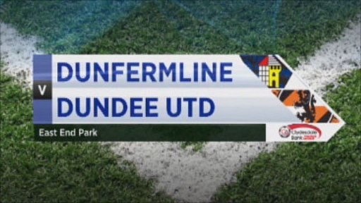 Dunfermline v Dundee United