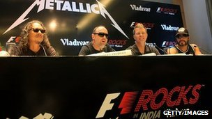 Metallica in New Delhi