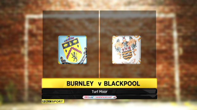 Burnley v Blackpool