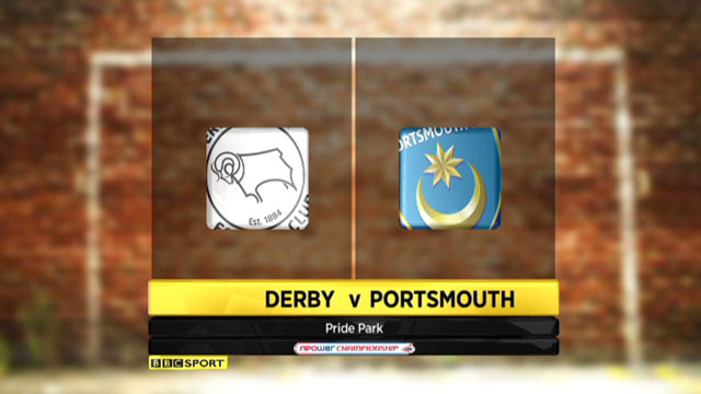 Derby v Portsmouth