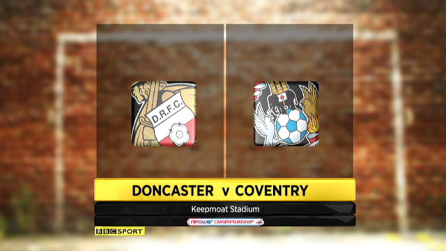 Doncaster v Coventry