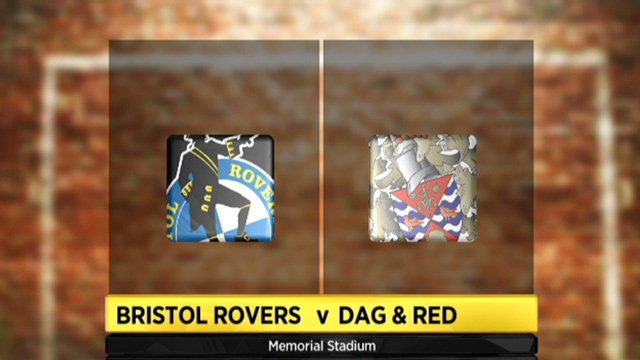 Bristol Rovers 2-0 Dag & Red