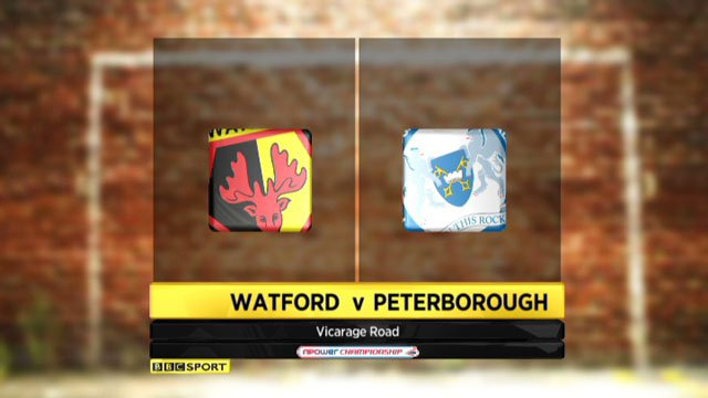 Watford v Peterborough