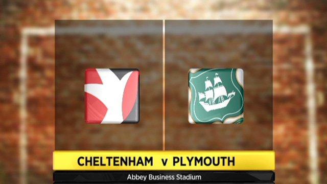 Cheltenham 2-1 Plymouth
