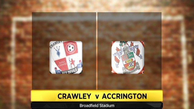 Crawley Town 1-1 Accrington Stanley