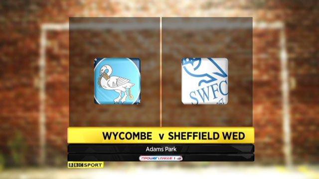 Wycombe v Sheffield Wednesday