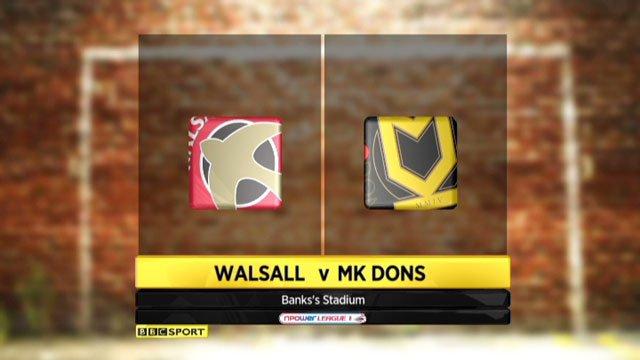 Walsall v MK Dons