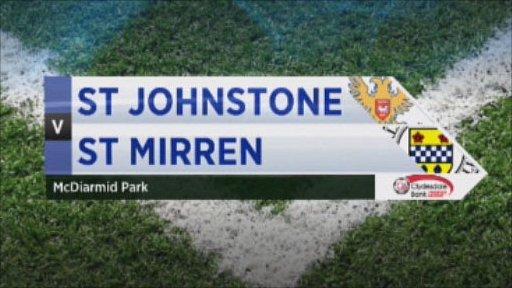 St Johnstone v St Mirren