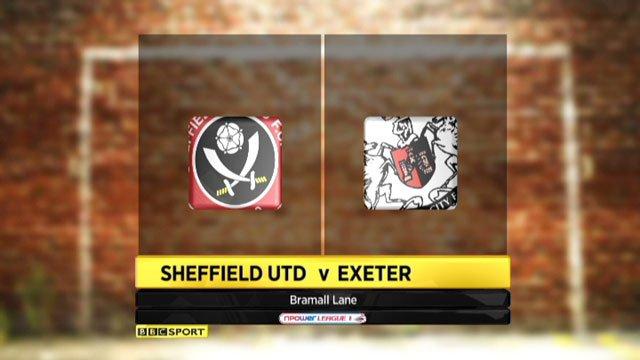 Sheffield Utd 4-4 Exeter