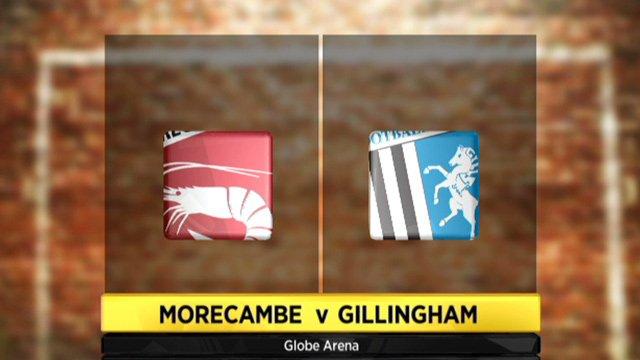 Morecambe 2-1 Gillingham