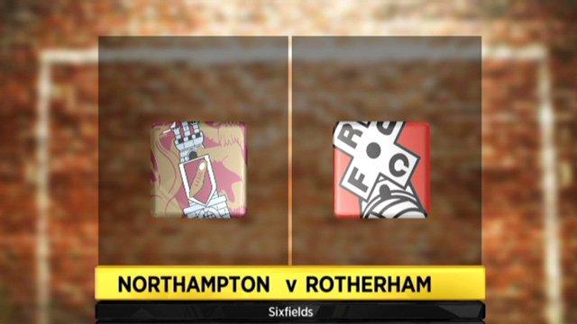 Northampton 1-1 Rotherham