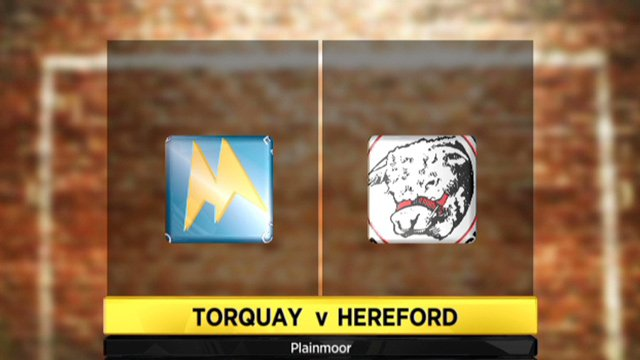 Torquay 2-0 Hereford