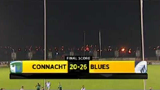 Connacht 20-26 Blues