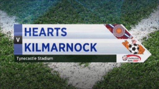 Hearts v Kilmarnock