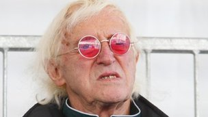 Sir Jimmy Savile. Chris Ison/PA Wire