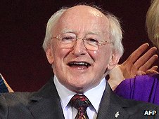 Ireland's president-elect Michael D Higgins
