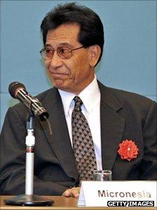 "Micronesian President Emanuel ""Manny"" Mori"