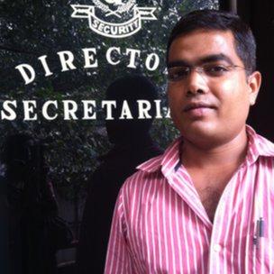 Detective agency boss Rahul Rai
