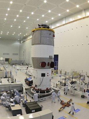 Tiangong-1 (AP)