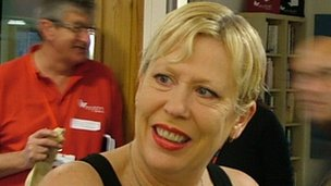 Hazel O&#039;Connor at the launch on Monday