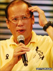 Benigno Aquino sings