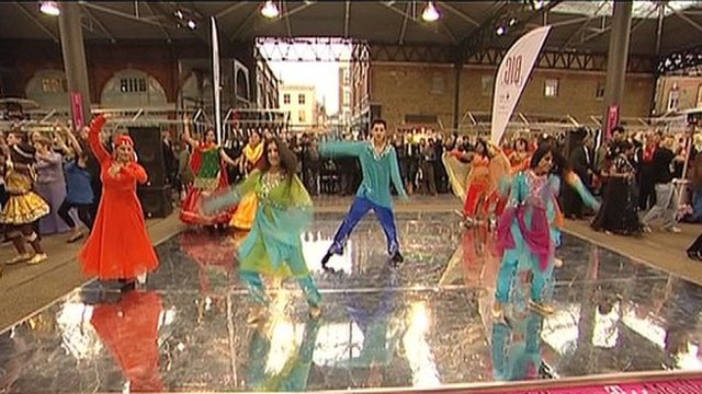 A Big Dance event marking the start of the Cultural Olympiad