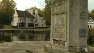 Carshalton war memorial