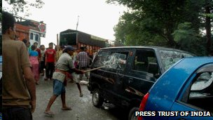 Blockade in Manipur