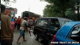 Blockade in Manipur