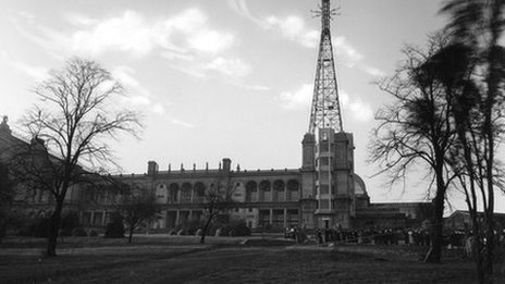 Alexandra Palace in the 30s