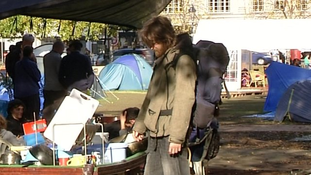 Bristol protest camp