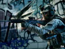 Battlefield 3 screen shot