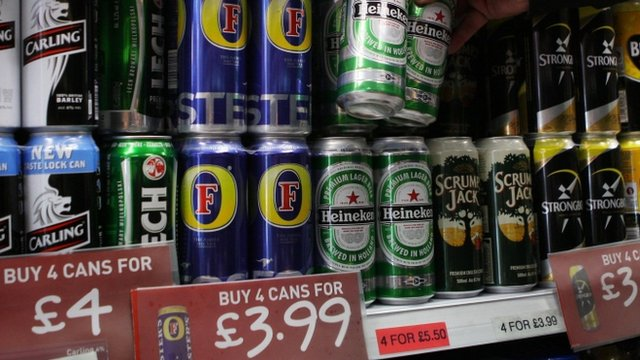 Lager and cider cans for sale