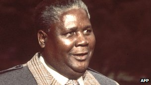 Former Zimbabwean independence fighter Joshua Nkomo