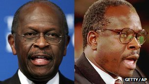 Herman Cain and Clarence Thomas