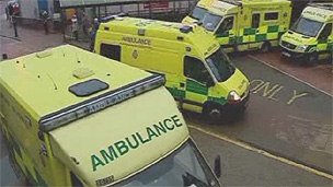 Ambulances in Wales (generic)