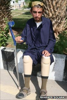 Saadullah, a victim of a drone strike