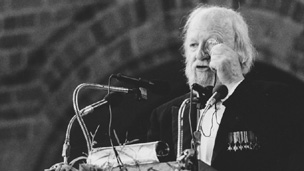 William Golding. Picture courtesy of the Nobel Foundation